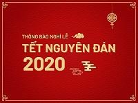 Announcement for Tet Holiday 2020